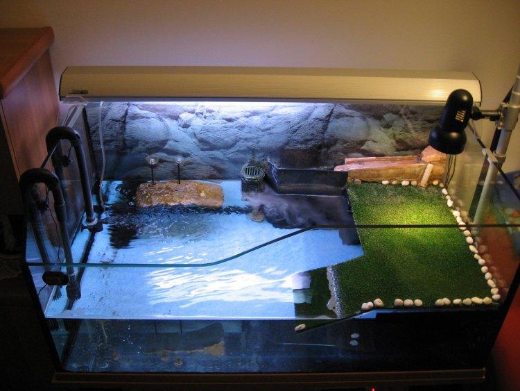 Offerta acquariologia tartarughiera 110x60x50cm for Acquario tartarughiera