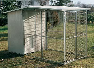 Box per cani for Box per cani da esterno usati