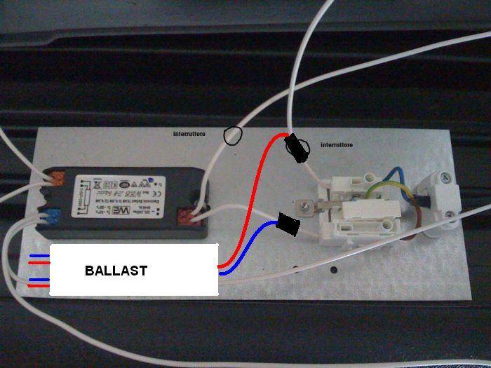 Schema Collegamento Neon : Tubi a led t per sostituire i tradizionali tubi a neon